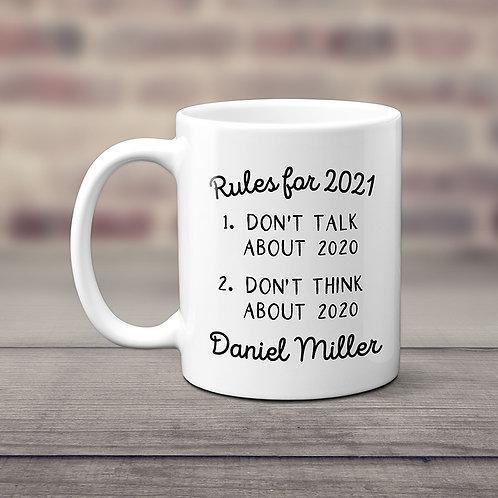 personalized 2021 mug