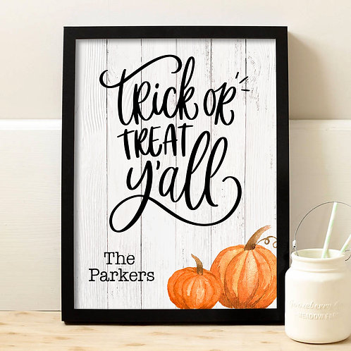 Rustic Country Halloween Decorations