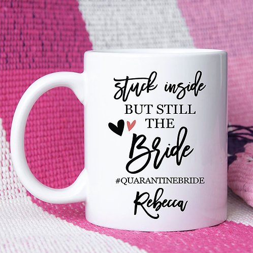 personalized bride coronavirus mug