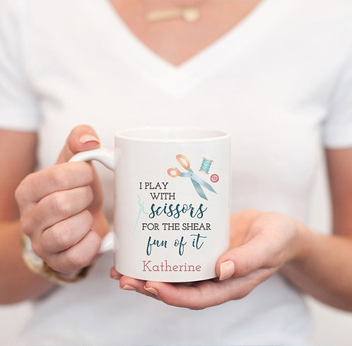 personalized sewing mug