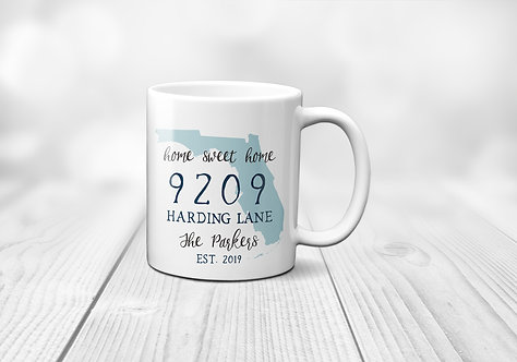 address personalized home cup