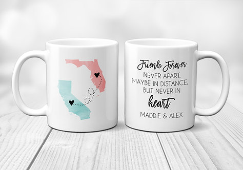 Long Distance Friendship Mug