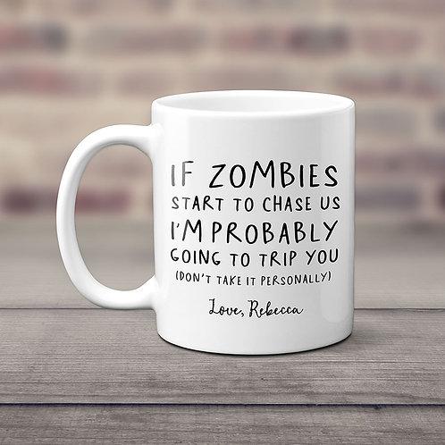Funny Zombie Halloween Mug