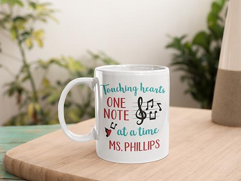 Personalized Music Teacher Mug