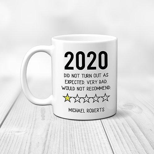 2020 review mug