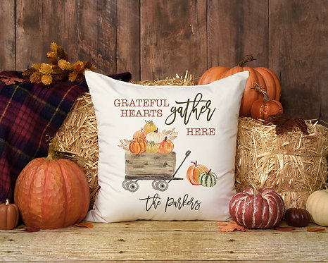 Personalized Fall Pillow