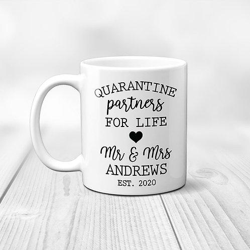 Quarantine Partners Wedding Mug