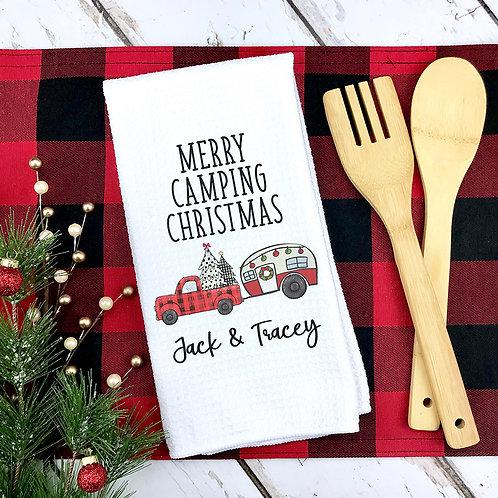 Christmas Camping Towel