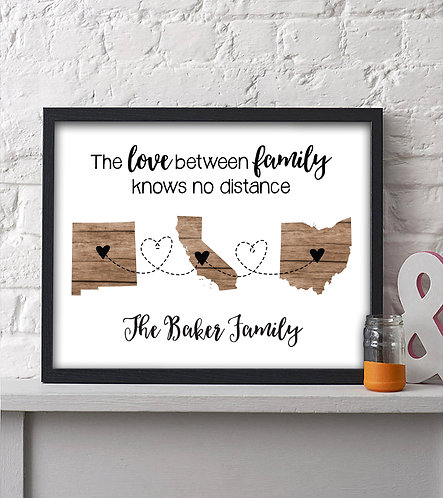 Three state personalized print