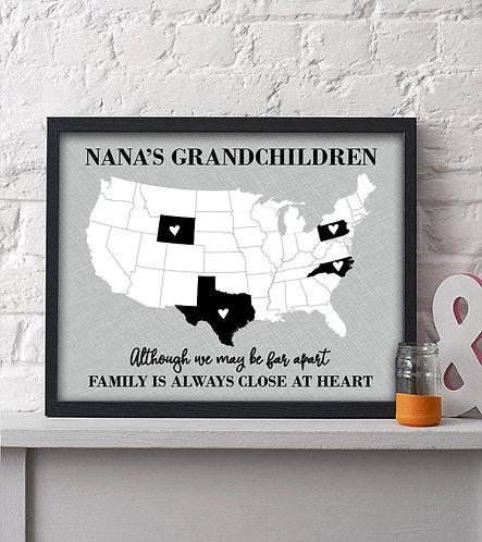 Grandchildren across the US