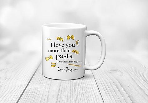 Funny Pasta Mug
