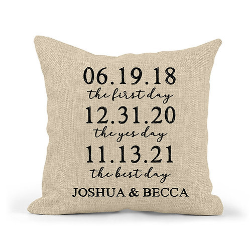 special dates wedding present