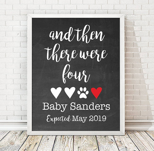 And Then There Were... Baby Announcement
