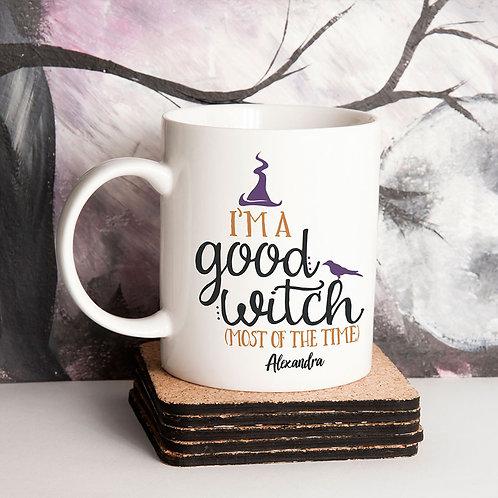 Good Witch Halloween Mug