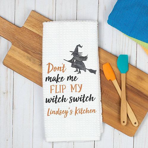 Witch Halloween Towel