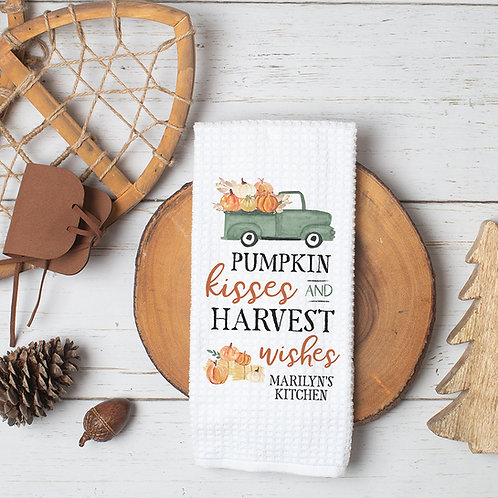 Personalized Fall Towel