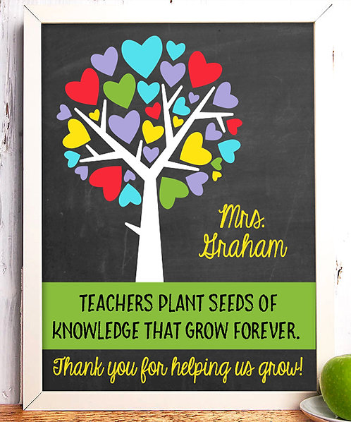 Seeds of Knowledge Personalized Print