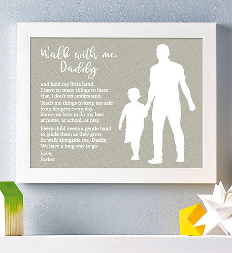 walk with me from son gift to dad
