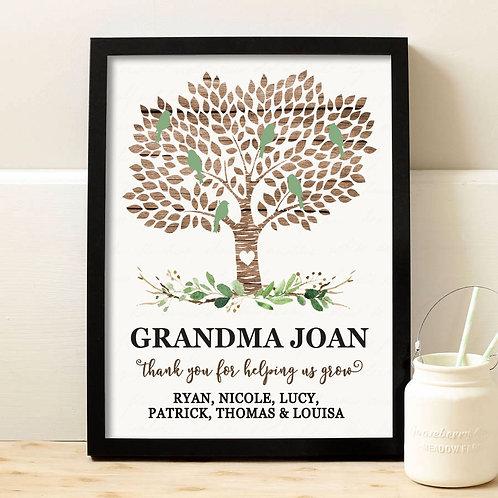 Grandma Appreciation Gift