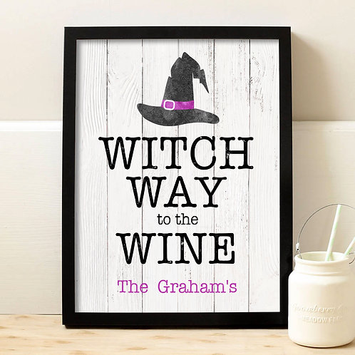 Comical Wine Drinking Holiday Signs