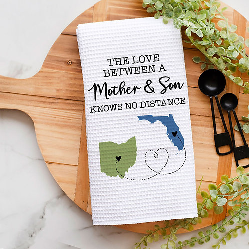 personalized the love between son and mother long distance