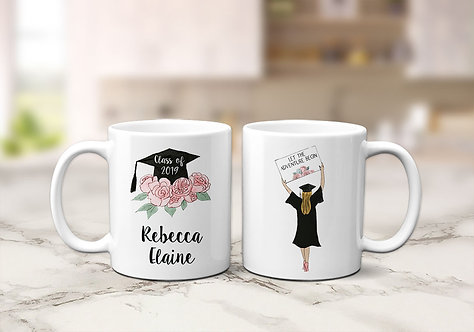 Girl Graduation Mug