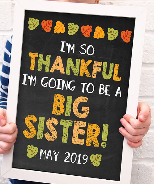 Thanksgiving Big Sister