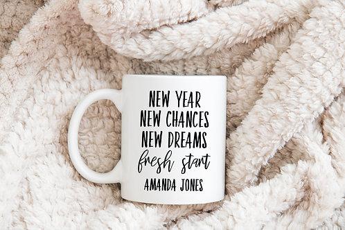new year new chances new dreams fresh start