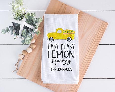 easy peasy lemon squeezy towel