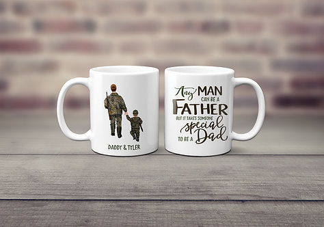 Father and Son Hunting Mug