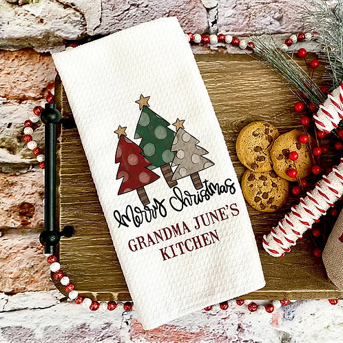 merry christmas kitchen decor