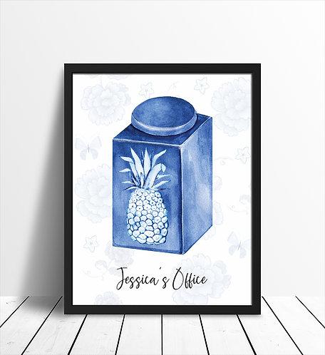 Pineapple Office Print