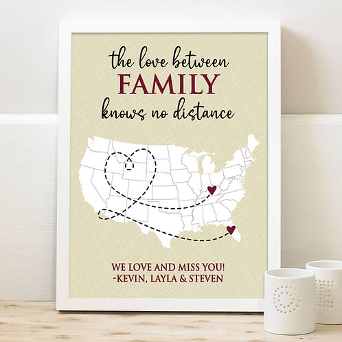 long distance family gift ideas