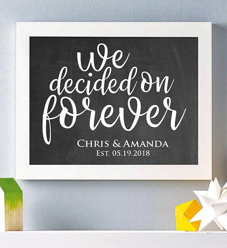 Wedding Day Print