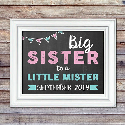 Big Sister To Little Brother Pregnancy Announcement