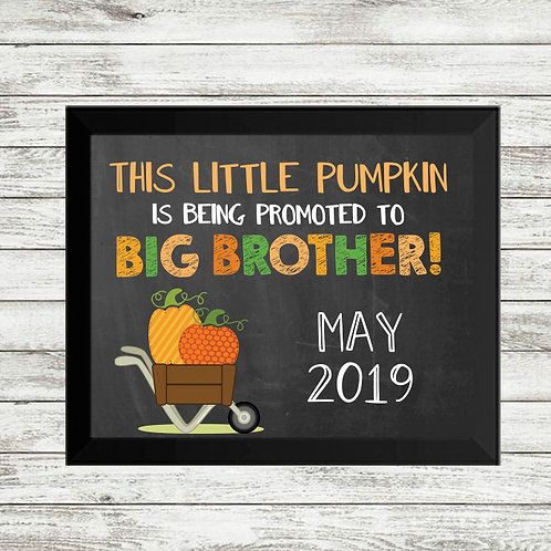 Thanksgiving Baby Announcement