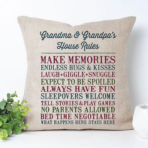 personalized house rules at grandparents