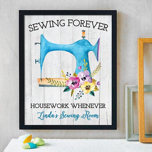 Sewing Room Print
