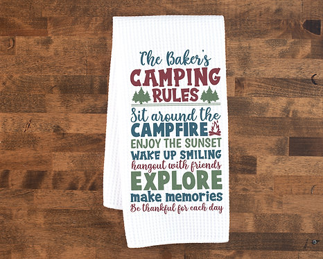 personalized camping accessories