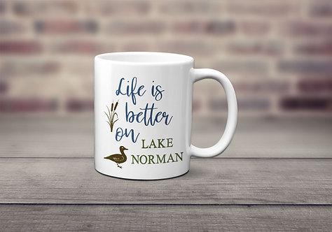 Personalized Lake Life Mug
