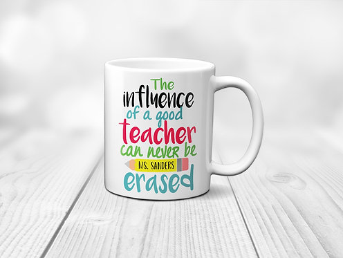 Teacher Appreciation Personalized Mug
