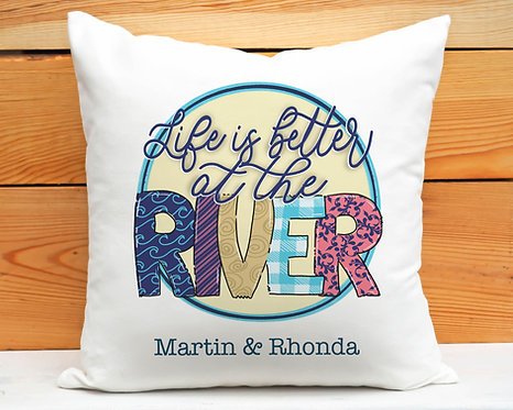 River Life Pillow