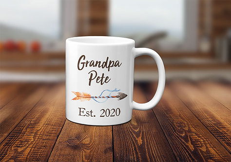 personalized grandpa mug