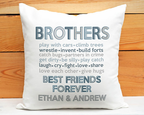 Brothers Pillow