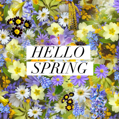 4 Things to Kick Off SPRING!