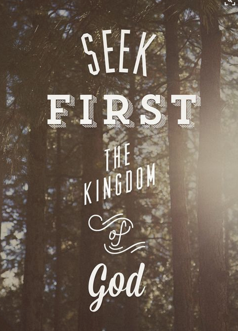 What are YOU Seeking First?