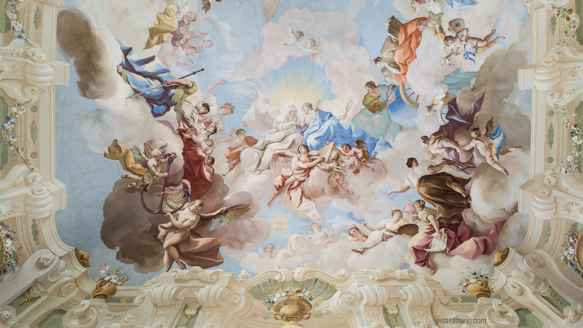 stift altenburg fresco