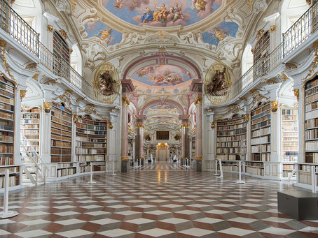 the marvellous white library
