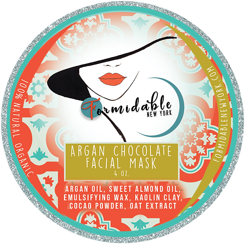 Argan Chocolate Facial Mask