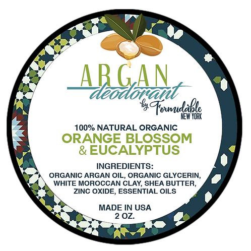 Argan Oil Deodorant